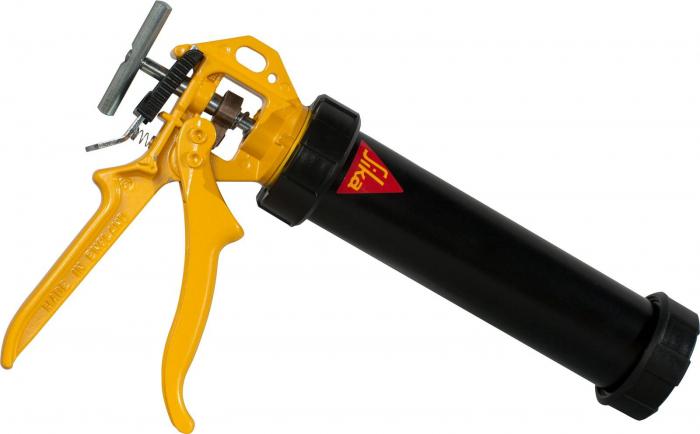 Pistol manual Powerflow pentru cartus si unipack pana la 600ml, Sika [0]