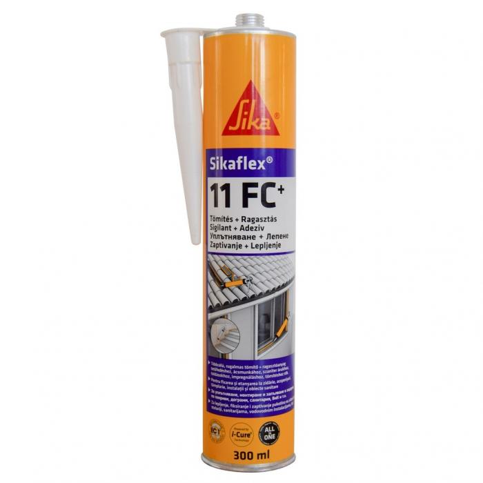 Sigilant pentru rosturi Sikaflex -11 FC, Sika, gri, 300 ml 0