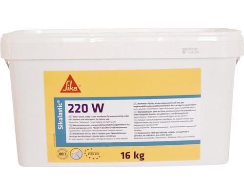 Hidroizolatie lichida pentru bai Sikalastic 220W, Sika, 16 kg 0