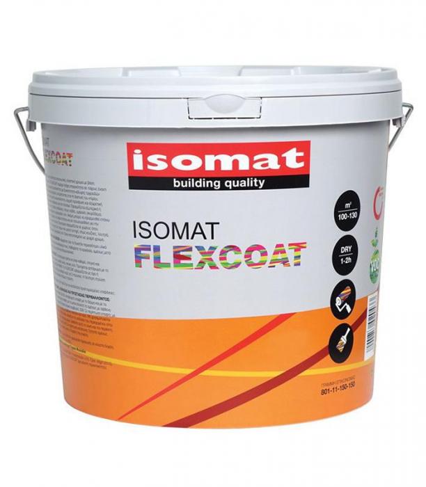 Vopsea elastică hidroizolantă, Flexcoat, Isomat, 3L 0