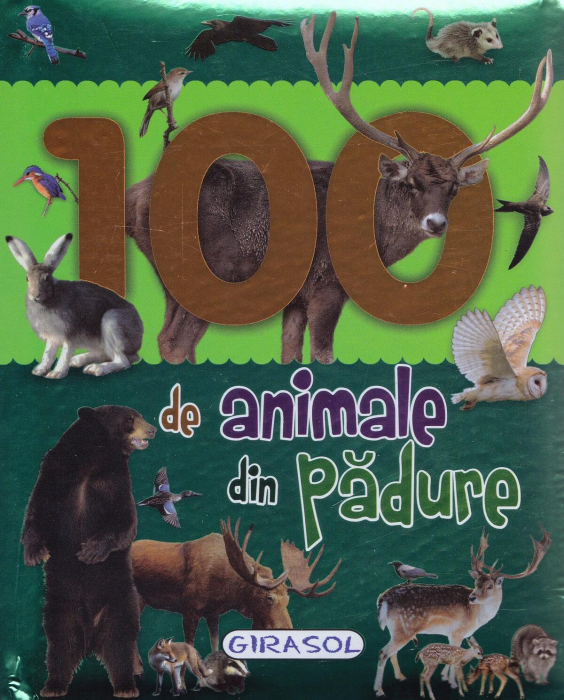 100 de animale din padure 0
