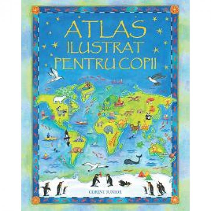 Atlas ilustrat pentru copii 0