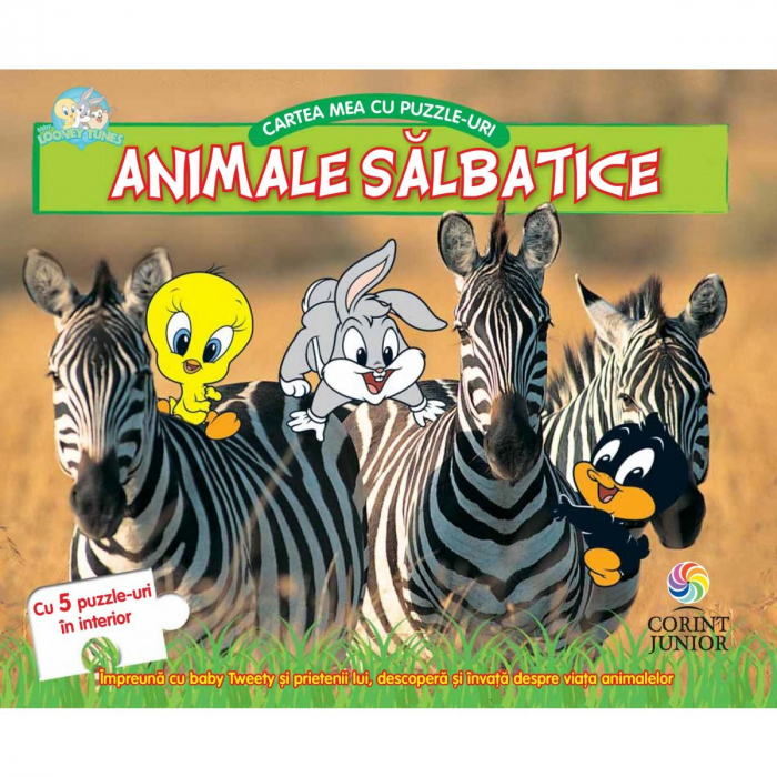 Baby Looney Tunes. Cartea mea cu puzzle-uri, animale salbatice [0]