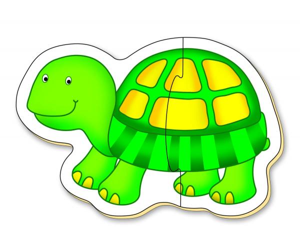 Baby Puzzle: Animale de companie (2 piese) 4