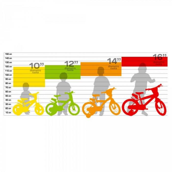 Bicicleta copii 10'' - EROII IN PIJAMA [1]