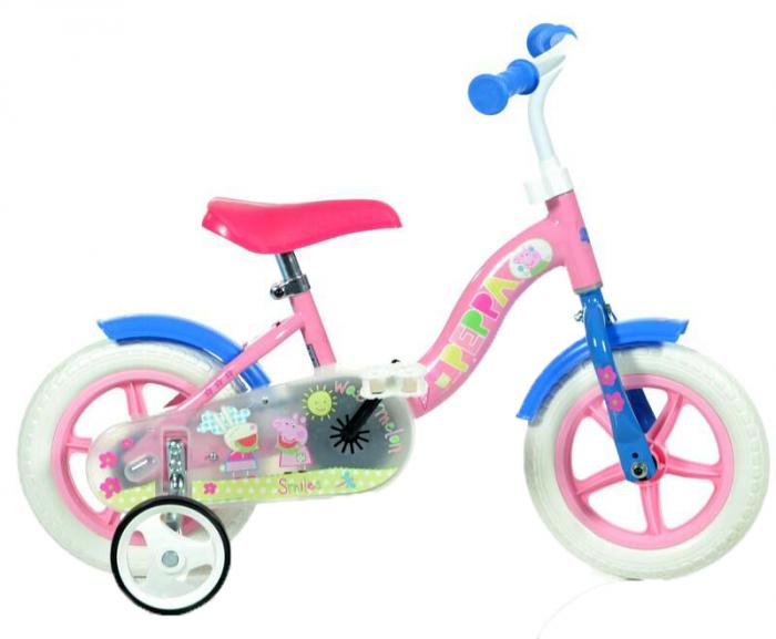 Bicicleta copii 10'' - Purcelusa Peppa [0]