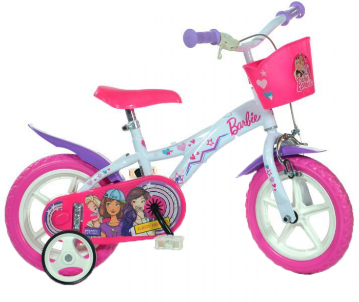 "Bicicleta copii 12"" - Barbie [0]"