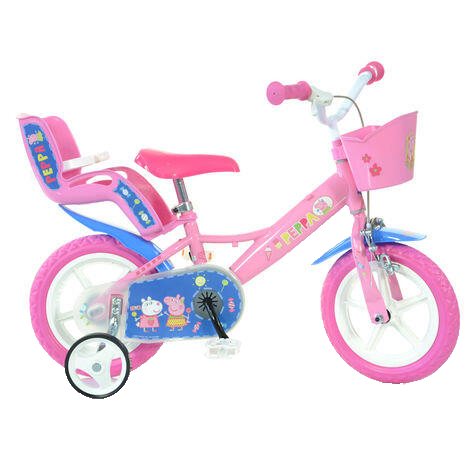 Bicicleta copii 12'' - Purcelusa Peppa 0