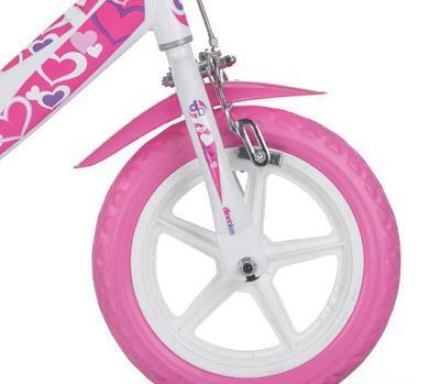 Bicicleta copii 12'' RLN - Inimioare 3