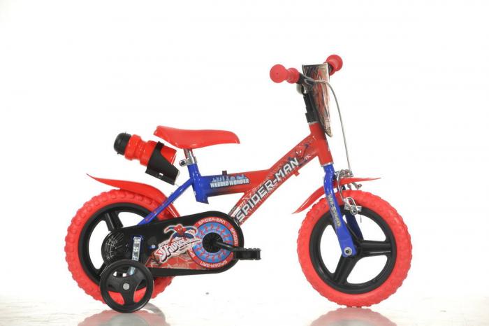 Bicicleta copii 12'' Spiderman 0