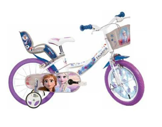 Bicicleta copii 14'' - FROZEN 1