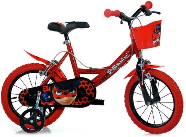 Bicicleta copii 14'' MIRACULOS-BUBURUZA 0