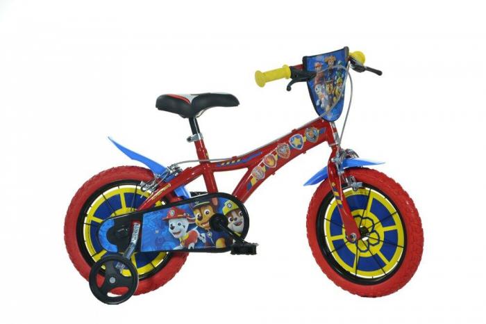 Bicicleta copii 14'' - PAW PATROL 0