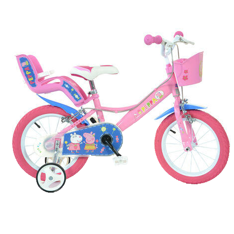 Bicicleta copii 14'' - Purcelusa Peppa [0]