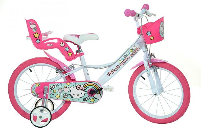 Bicicleta copii 16'' Hello Kitty 0