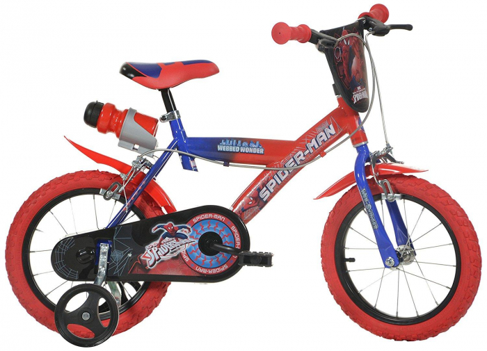 Bicicleta copii 16'' SPIDERMAN [0]