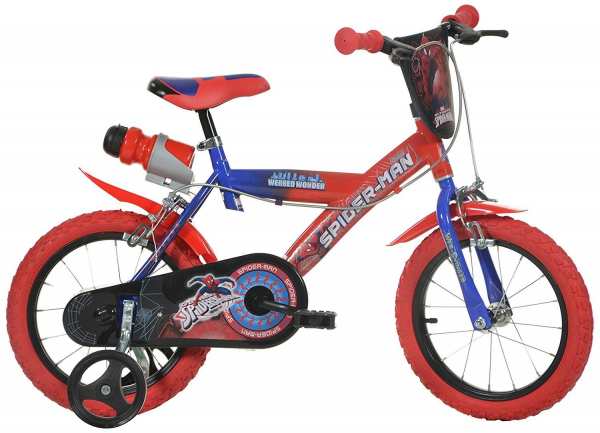 Bicicleta copii 16'' SPIDERMAN 0