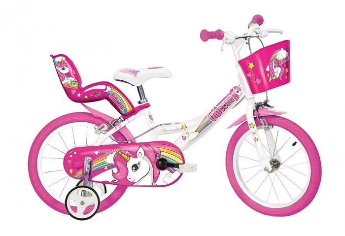 Bicicleta copii 16'' - UNICORN 0