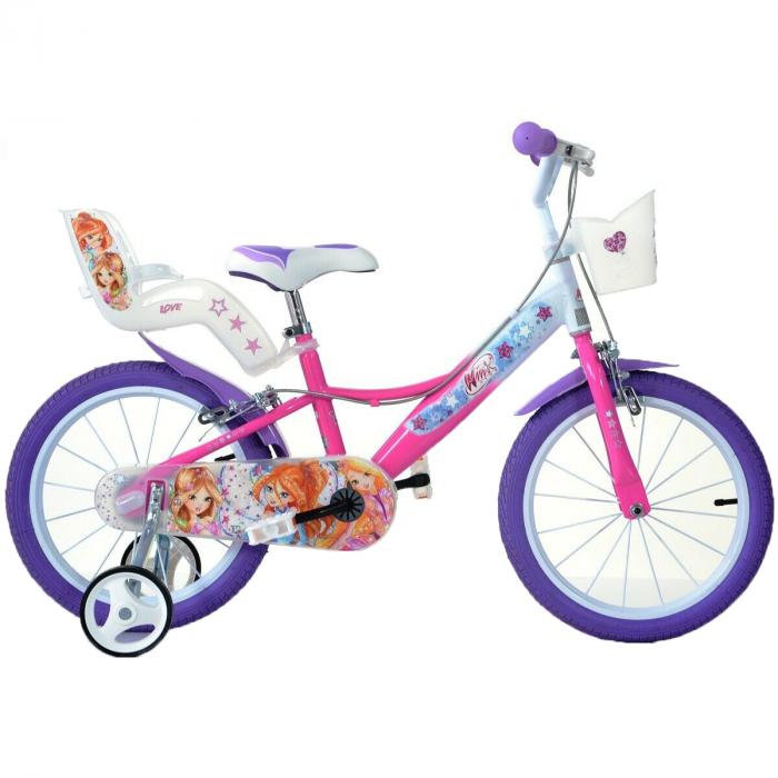Bicicleta copii 16'' Winx 0