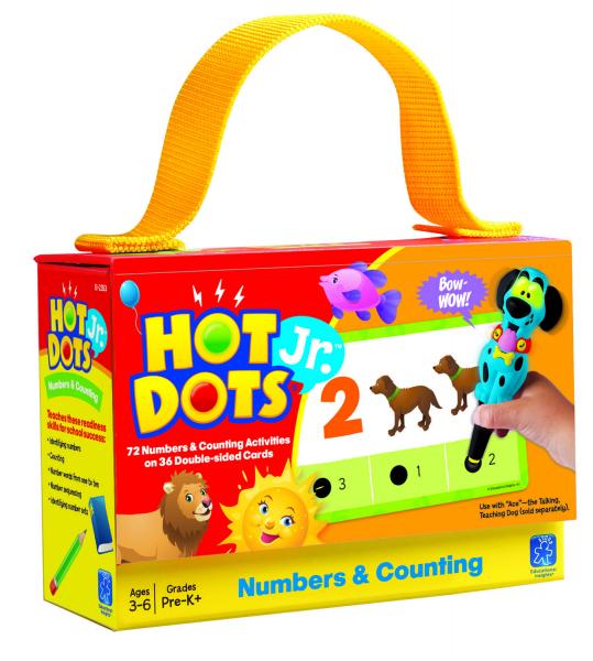 """Carduri Junior HOT DOTS """"Numerele"""" 0"""