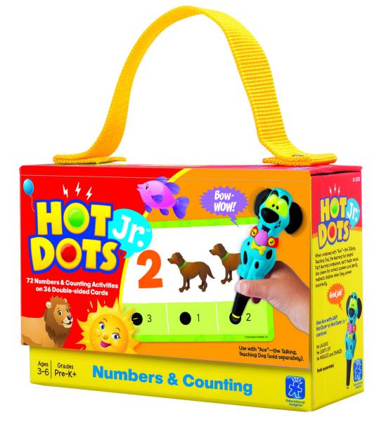 """Carduri Junior HOT DOTS """"Numerele"""" 1"""