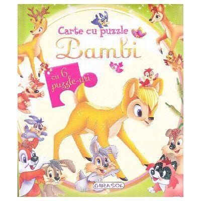 Carte cu puzzle - Bambi [0]