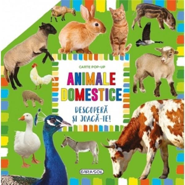Carte pop-up - animale domestice [0]
