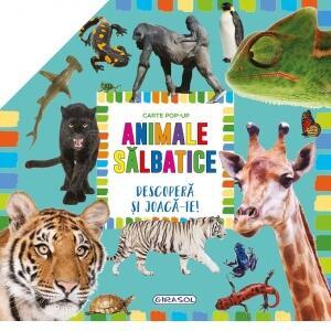 Carte pop-up - animale salbatice 0