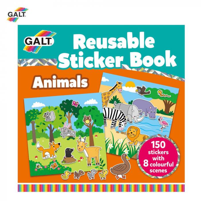 Cartea mea cu stickere - Animale [0]