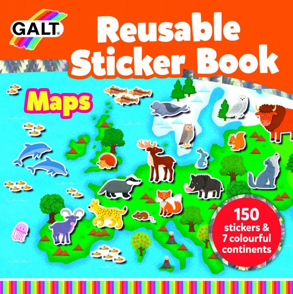 Cartea mea cu stickere - Harta 3