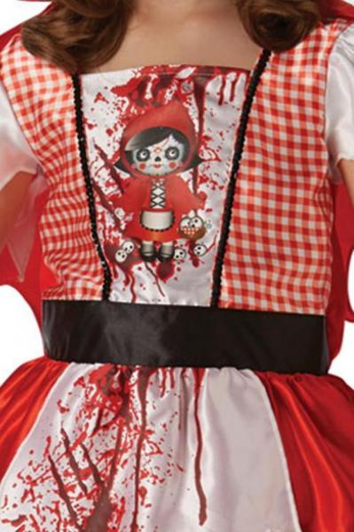 Costum de carnaval - Scufita Rosie infricosatoare 1