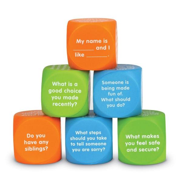 Cuburi pentru conversatii - Descoperim emotiile 0