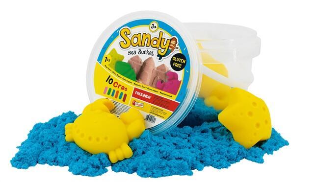 Galetusa cu nisip de mare colorat 1
