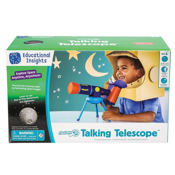 Geosafari - Telescopul vorbitor 0