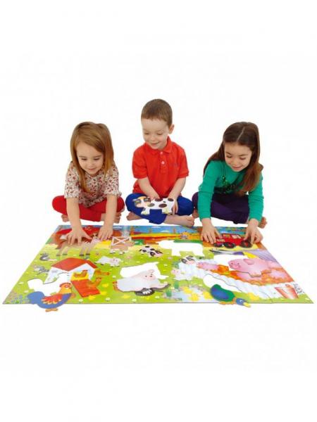 Giant Floor Puzzle: Ferma (30 piese) 2