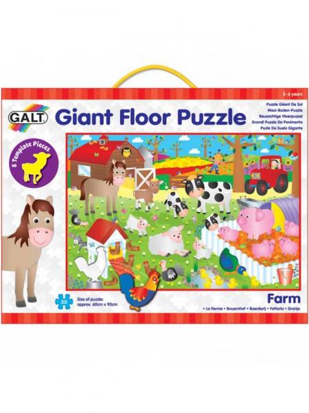 Giant Floor Puzzle: Ferma (30 piese) 0