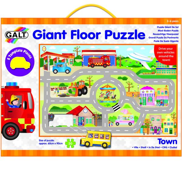 Giant Floor Puzzle: Orasul (30 piese) 2