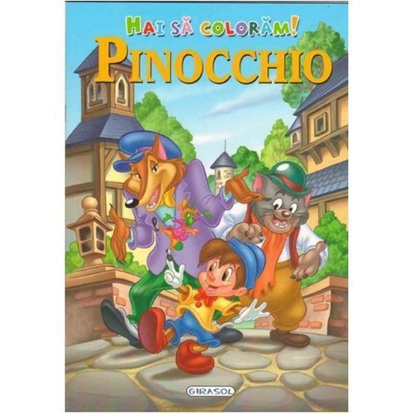 Hai sa coloram! Pinocchio 0