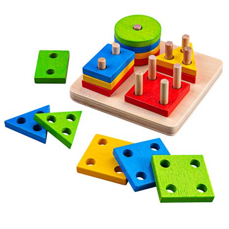 Joc de sortare - 4 forme geometrice 7