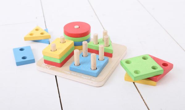 Joc de sortare - 4 forme geometrice 5