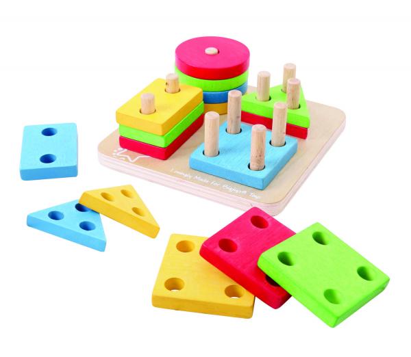 Joc de sortare - 4 forme geometrice 4