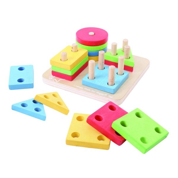 Joc de sortare - 4 forme geometrice 2
