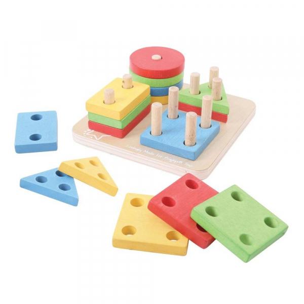 Joc de sortare - 4 forme geometrice 0