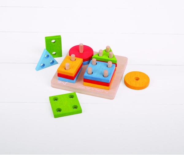Joc de sortare - 4 forme geometrice 3