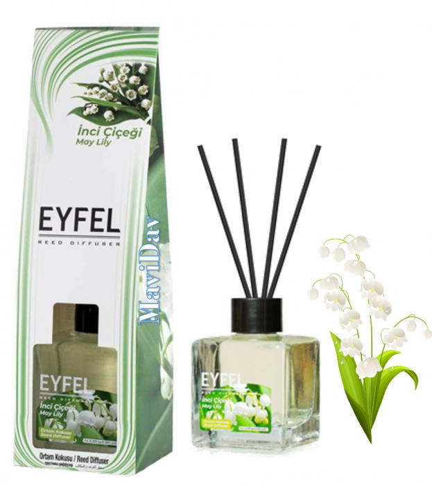 Odorizant de camera Eyfel 120ml - Lacramioara ( Margaritar ) 0