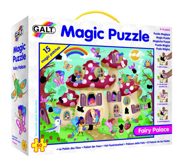 Magic Puzzle - Palatul zanelor (50 piese) 0