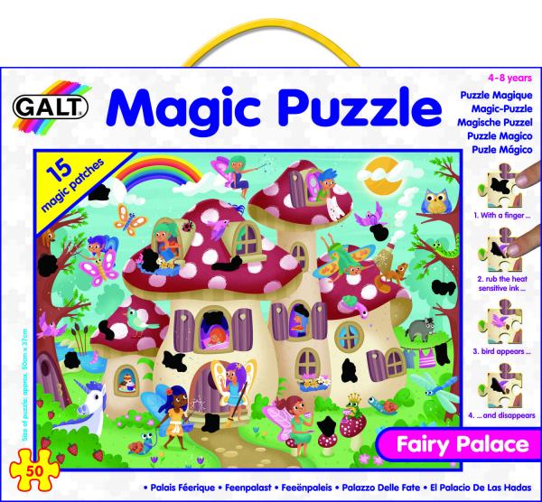 Magic Puzzle - Palatul zanelor (50 piese) 2