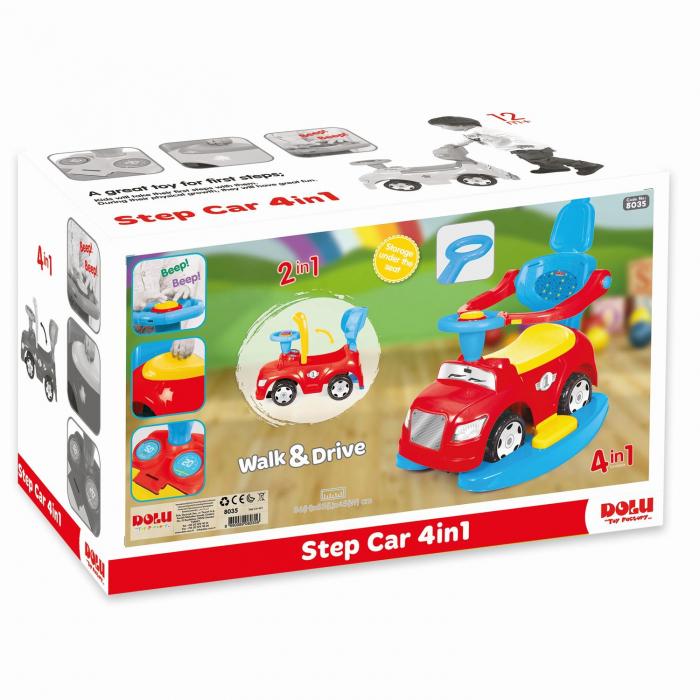 Masinuta  4 in 1  -  Step car 0