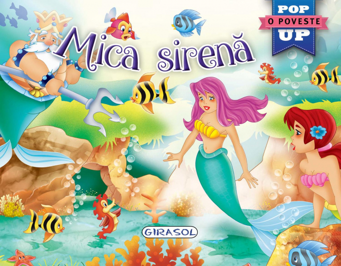 Pop-up - Mica sirena 0