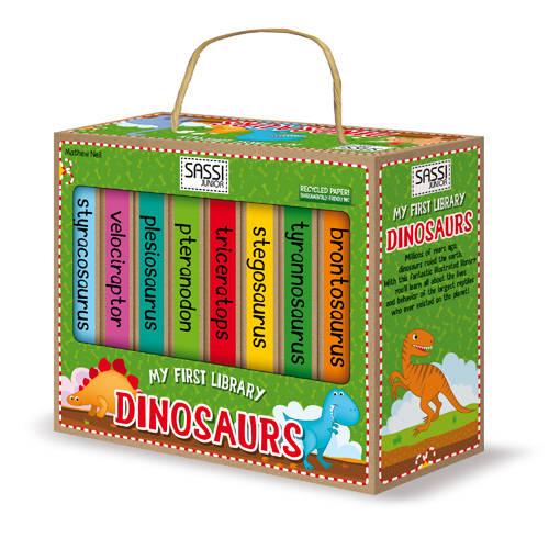 Prima mea biblioteca - Dinozauri [1]